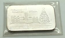 Western Mint Johnson Matthey Parliament Buildings Ottawa 1 oz Silver Art Bar