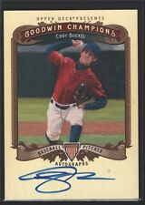 CODY BUCKEL 2012 UD GOODWIN CHAMPIONS ROOKIE ON CARD AUTOGRAPH AUTO RC SP $15