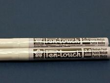 Sakura Pen Touch Paint Marker, White 2.0mm Med 2 each 42500 New!