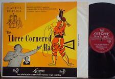 ANSERMET Three Cornered Hat [DE FALLA] EXC 1952 DG LONDON MONO LP Suzanne Danco