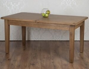Oak Extending Dining Table Takes 8 Chairs