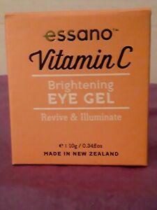 Essano 🐎 Vitamin C Brightening Eye Gel REVIVE & ILLUMINATE 10G/0.34 FL OZ  NIB