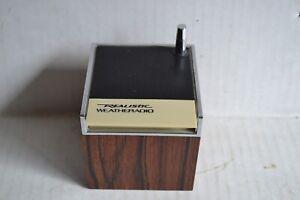 Vintage MCM Realistic WEATHERADIO CUBE RADIO Shack 9-volt 12-181