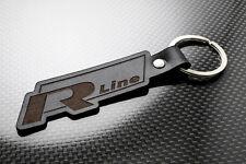 VW R-Line Leather Keyring Keychain Schlüsselring Porte-clés Touran Tiguan Sharan