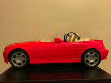 Barbie loves Ken Pink Convertible 1990s vintage, great condition