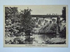 VILLANTERIO CANALE MAROCCO Pavia vecchia cartolina