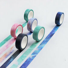 Sticky Washi Paper Tape DIY Adhesive Scrapbooking Masking Craft For Decorative