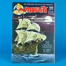 Mosaico Abrafaxe 260 | agosto 1997 | DDR DA COLLEZIONE b1 | La nave fantasma
