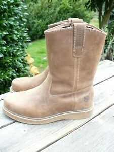 Muck Wellie Leather Boots Men's Size 10-1/2