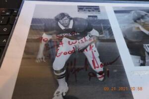 Nebraska Cornhusker - autographed photograph Mark Daum Herbie Husker