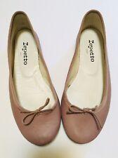Repetto Pink Leather Ballet Flats Paris France 6