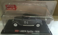 "DIE CAST 1000 MILES "" SPEAR APRILIA - 1938 "" + BOX 2 SCALE 1/43"