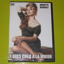 DVD.- Y DIOS CREO A LA MUJER - BRIGITTE BARDOT - ROGER VADIM - PRECINTADA