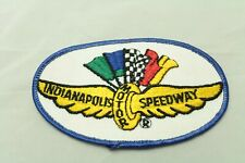 Vintage Indianapolis motor speedway patch Rare Round Version