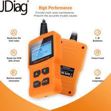 Automotive Code Reader Car Engine Scanner Diagnostic Tool OBD OBDII CAN JDiag109