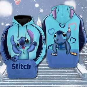Disney Stitch 3D Hoodie - Hoodie Unisex 3d Disney Gift For Men For Women