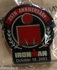 Ironman Hawaii 2003 25th Anniversary Triathlon Collectors Pin 100%Original