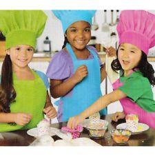 BAKING PARTY KIDS CHEF HATS (3) ~ Cupcake Birthday Supplies Favor Costume Unisex