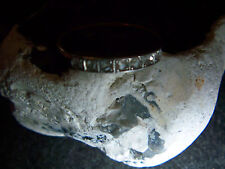 Gold-Ring mit Sieben echten Diamantrosen 585er Rose-Gold-Platin-1910-1920