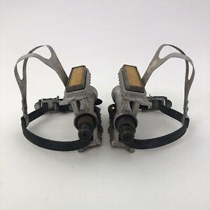Vintage Sakae SR Pedals SP-154 + Clips A14