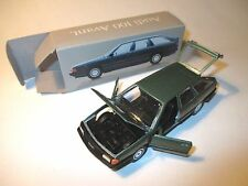 Audi 100 C3 Avant in grün verde vert green metallic, Schabak 1:43 DEALER boxed!