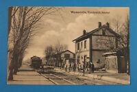 France Marne 51 AK CPA Warmeriville 1914-18 Gare Chemin de Fer Zug Eisenbahn 1WK