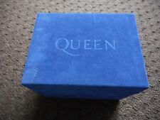 "QUEEN ""THE CROWN JEWELS"" 25TH ANNIVERSARY BOX SET FELT COVER 1ST 8 ALBUM'S 1998"