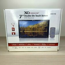 """XO Vision XOD1750 DVD Receiver 7"""" Double Din Touch Screen 16:9 Display Brand NEW"""