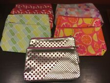 Clinique Lot #2 of 10 Cosmetics Makeup Travel Bags *NEW* 5 Styles