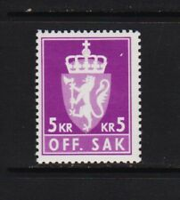 Norway - #O113 Mint, NH, cat. $ 30.00