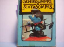 Smurfs Chimney sweep ALL BLACK Unpainted rare unusual SJ1234