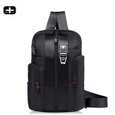 Swiss Gear Men Chest Pack Outdoor Running bag Travel Hiking IPAD Shoulder Bag