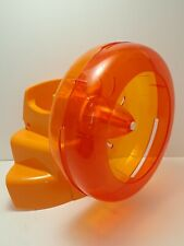 Habitrail Ovo Exercise Wheel Orange with Connector Stand for Hamster / Animal