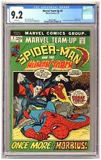 Marvel Team-Up #3 (CGC 9.2) Spider-Man Human Torch Morbius Fantastic Four C709