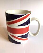 GIANT Glazed Union Jack 1 Pint / 568ml Mug 11.5x9.5cm