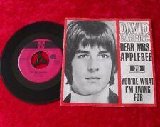 "Single 7"" David Garrick - Dear Mrs. Applebee"
