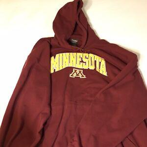 University Of Minnesota Hoodie Sweatshirt XXL 2XL Logo Very Good