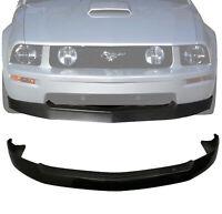 (Black PP) For 05-09 Ford Mustang V8 GT 4.6L PU Front Bumper Lip Spoiler Kit