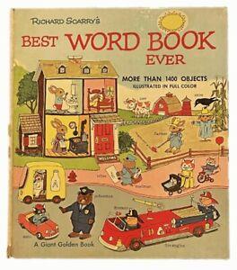 Richard Scarry's Best Word Book Ever [1969 Unabridged]