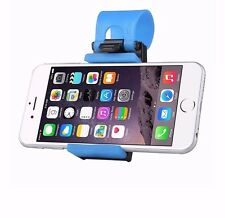 Car holder phone wheel mount clip blue