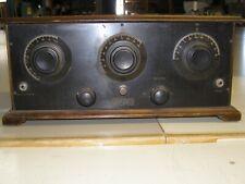 Vintage Chas. Freshman Co. Masterpiece Tube Radio serial # 14032