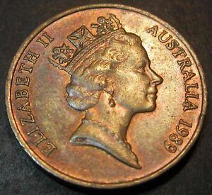 1989 Australia 2c Two Cents #D89-02 =HIGH GRADE=