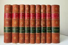 P-J. Beranger Oeuvres. 1875 Complet de ses 9 volumes. Garnier Frères