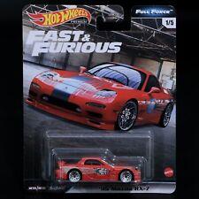 Hot Wheels Fast & Furious 95 MAZDA Rx7 Full Force Series 1/5 Premium