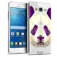 Coque Crystal Pour Galaxy Grand Prime Extra Fine Polygon Animals Panda