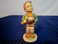 Hummel Figurine #97. Trumpet Boy. Full Bee TMK-2. 1950-55. Germany. NICE.
