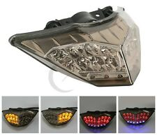 Smoke LED Brake Turn Signal Tail-Light For KAWASAKI NINJA 250 R 300 2013-2017