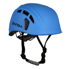 Professional Climbing Hard Hat Outdoor Caving Rescue Safety Helmet Blue