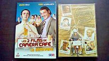 BRUNO SOLO : LOT DVD Livraison à domicile + Les 2 films de Caméra café