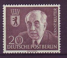 Briefmarken aus Berlin (1954-1955) mit Politiker-Motiv